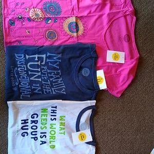 3 Women's Sz Sm T-shirts by Life is Good